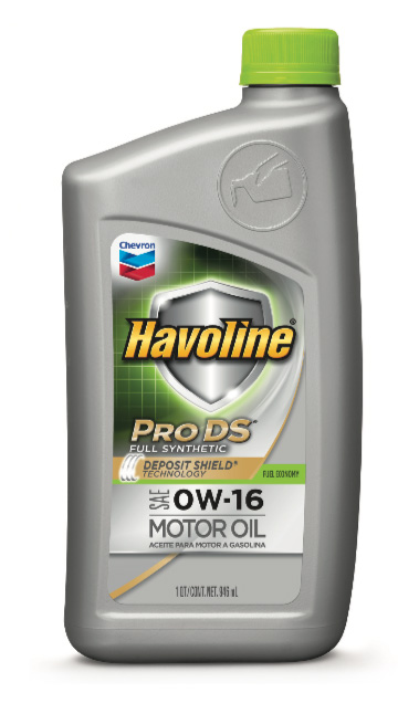 Havoline® ProDS Full Synthetic SAE 0W-16