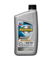 HAVOLINE ProDS SYNTHETIC M/O SAE 5W-20