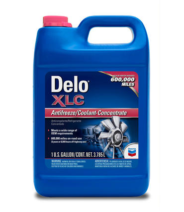 Охлаждающая жидкость CHEVRON DELO XLC Antifreeze/Coolant Premixed -37C